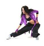 De hopdanser van de heup Stock Foto's