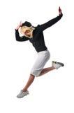 De hopdanser van de heup stock fotografie
