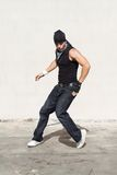 De hopdanser van de heup het dansen Stock Foto's