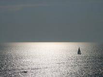 De horizon stock afbeelding