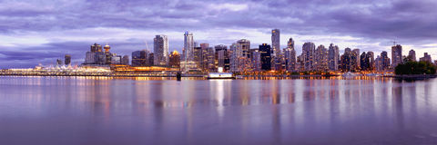 De Horizon Canada van Vancouver Royalty-vrije Stock Fotografie