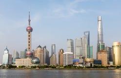 De horizon 2015, China van Shanghai royalty-vrije stock foto's