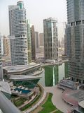 De horizon de V.A.E van Doubai Royalty-vrije Stock Foto