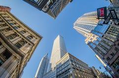 De horizon en de omgeving van New York stock foto's