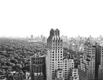 De horizon en het Central Park van Manhattan Royalty-vrije Stock Foto