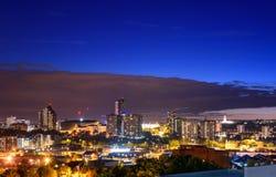 De Horizon Leeds, Engeland, het Verenigd Koninkrijk van Leeds stock fotografie