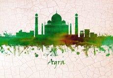De Horizon van Agraindia stock illustratie