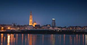De horizon van Antwerpen Royalty-vrije Stock Foto
