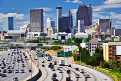 De horizon van Atlanta stock afbeelding