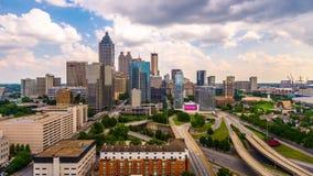 De Horizon van Atlanta, Georgië, de V.S. stock videobeelden