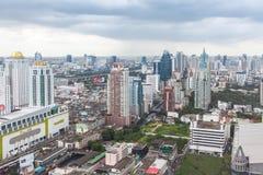 De horizon van Bangkok, Thailand Royalty-vrije Stock Foto's