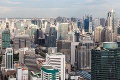 De horizon van Bangkok, Thailand Royalty-vrije Stock Fotografie