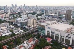 De horizon van Bangkok, Thailand Royalty-vrije Stock Afbeeldingen