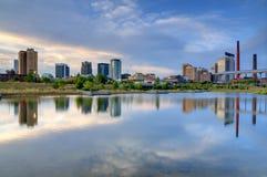 De Horizon van Birmingham, Alabama Stock Foto's