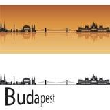 De horizon van Boedapest Stock Afbeelding