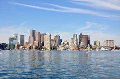 De Horizon van Boston Stock Foto's