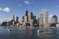 De horizon van Boston Stock Foto