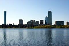 De horizon van Boston royalty-vrije stock afbeeldingen
