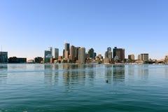 De horizon van Boston, Massachusetts, de V Stock Fotografie