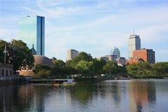 De Horizon van Boston op Charles Royalty-vrije Stock Foto