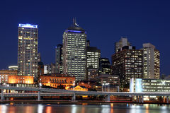 De Horizon van Brisbane. Stock Fotografie