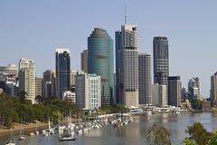 De horizon van Brisbane Royalty-vrije Stock Fotografie