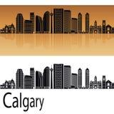 De horizon van Calgary V2 Royalty-vrije Stock Fotografie