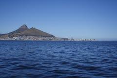 De horizon van Cape Town van de oceaan Royalty-vrije Stock Afbeelding