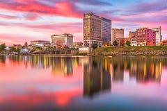 De Horizon van Charleston, West-Virginia, de V.S. stock foto's
