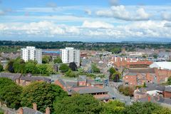 De horizon van Chester royalty-vrije stock afbeelding