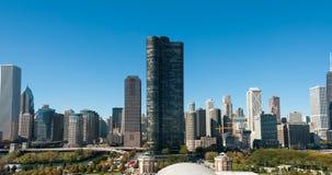 De Horizon van Chicago Stock Afbeeldingen