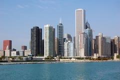 De Horizon van Chicago stock afbeelding