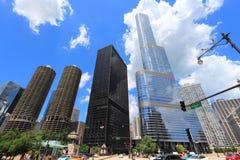 De Horizon van Chicago Royalty-vrije Stock Afbeeldingen
