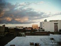 De Horizon van de binnenstad Royalty-vrije Stock Foto's