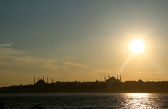 De Horizon van de stad Royalty-vrije Stock Foto's
