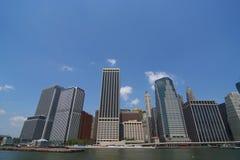 De Horizon van de Stad van de metropool Royalty-vrije Stock Afbeeldingen