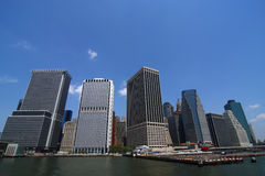 De Horizon van de Stad van de metropool Stock Foto