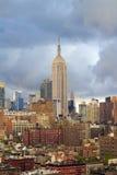 De Horizon van de Stad van New York Stock Foto
