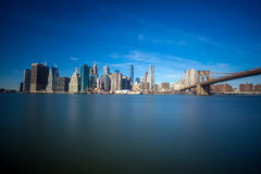 De Horizon van de Stad van New York Stock Foto