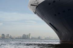 De Horizon van de Stad van Panama Stock Afbeelding