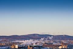 De Horizon van de Stad van Quebec Stock Foto