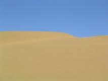 De horizon van de woestijn stock foto's