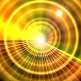 De Horizon van de zonneschijn Royalty-vrije Stock Foto's