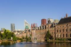 De horizon van Den Haag Stock Afbeeldingen