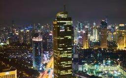 De Horizon van Djakarta Royalty-vrije Stock Foto