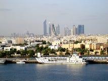 De Horizon van Doubai Stock Afbeelding