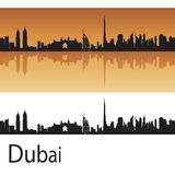 De horizon van Doubai vector illustratie