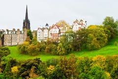 De horizon van Edinburgh Stock Afbeelding