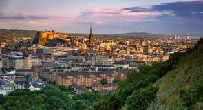 De horizon van Edinburgh royalty-vrije stock fotografie