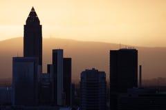 De Horizon van Frankfurt Royalty-vrije Stock Foto's